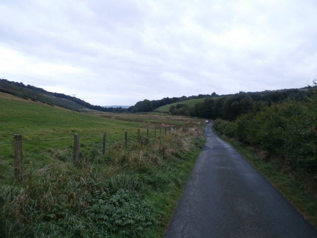 The road below Glanders Cleugh