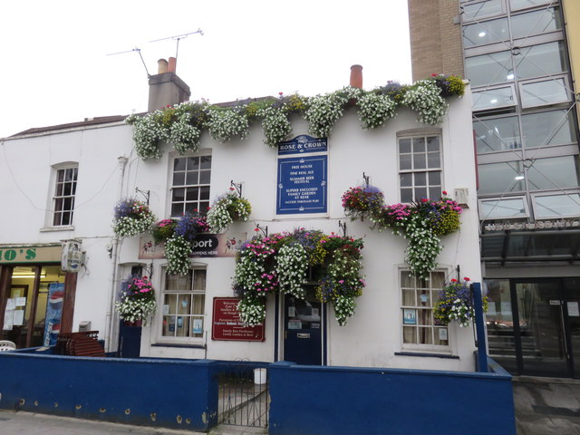 The Rose and Crown. Slough