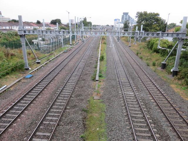 Railway lines, Slough