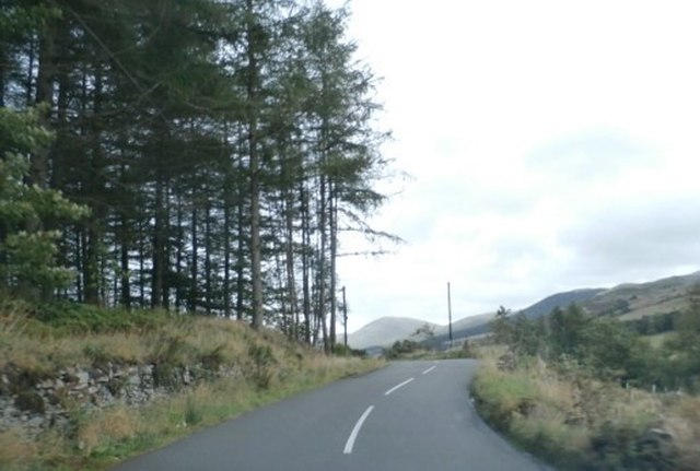 The A708 in Moffatdale
