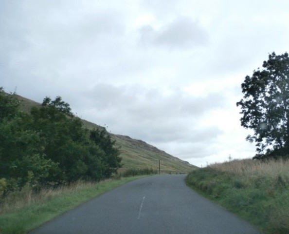 The A708 near Blackshope