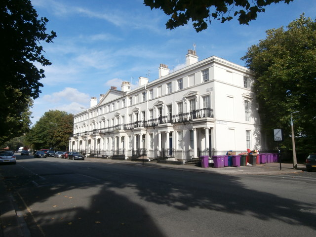 Falkner Square, east side, Liverpool