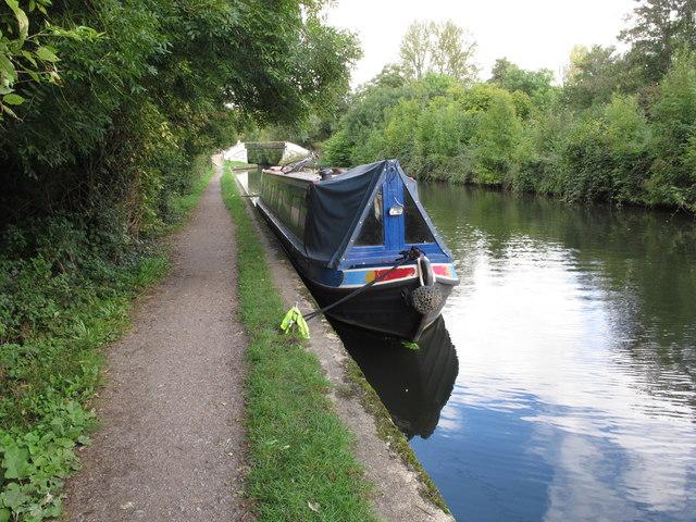 Let it Be, narrowboat near Denham