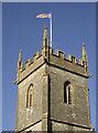 ST6660 : All Saints tower by Neil Owen