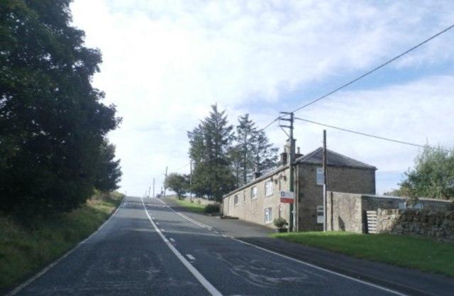 A68 near Ridsdale