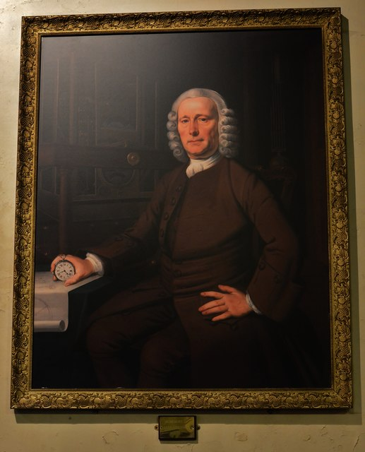 """Barrow upon Humber, Holy Trinity Church: John """"Longitude"""" Harrison (1693-1776)"""