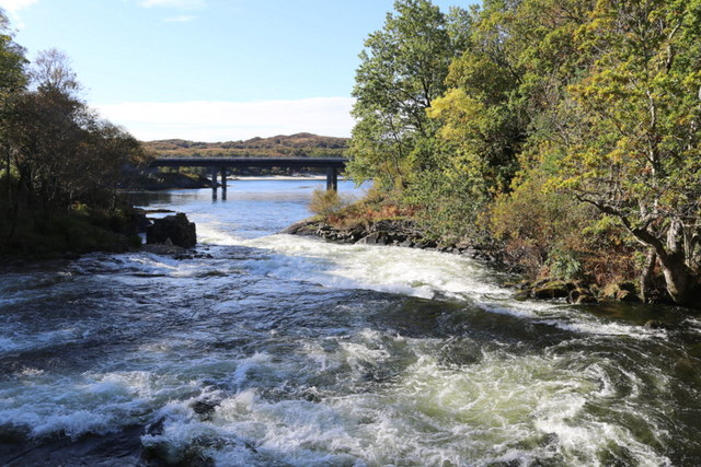 A turbulent river Morar