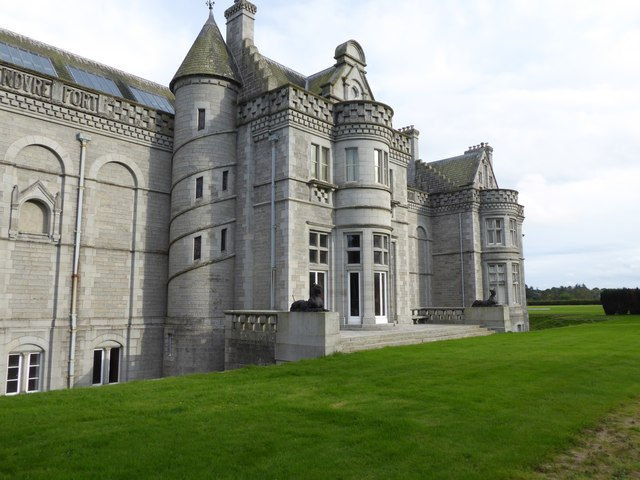 Dunecht House - west front