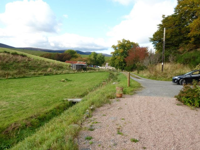 Track from Milltown Cottage