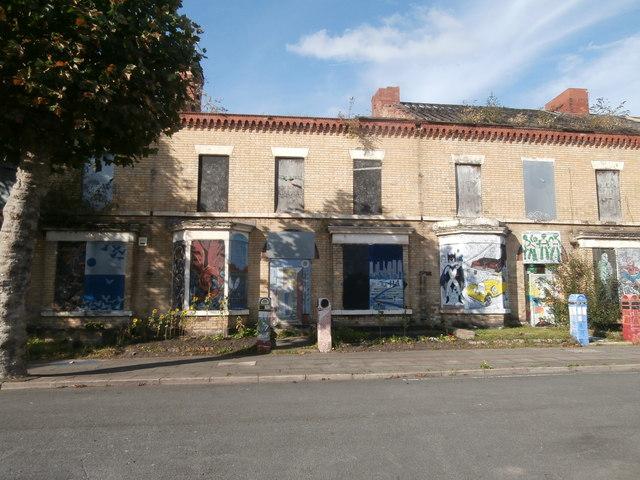 """Street art"", Ducie St, Liverpool"