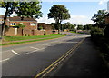 ST2895 : Towards a bend in Ty Gwyn Road, Cwmbran by Jaggery