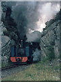SN7376 : Locomotive no. 8 approaching Devil's Bridge station 1974 by Klaus Liphard