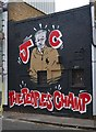 TQ2884 : Politically inspired mural, Stucley Place, Camden Town : Week 41