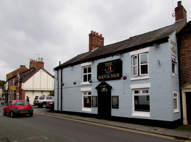 boot shoe in nantwich 169 jaggery cc by sa 2 0 geograph