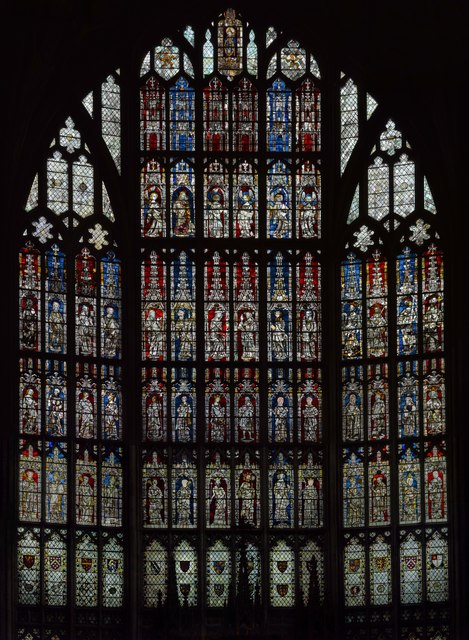 Great East Window Gloucester Cathedral 169 Julian P Guffogg