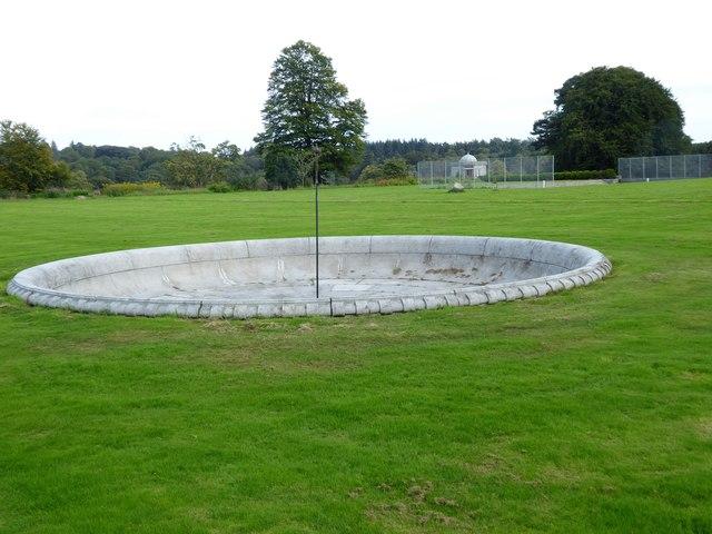 Dunecht House - Fountain basin