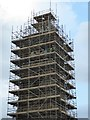 SO8540 : Upton's Pepperpot Tower under scaffolding : Week 41