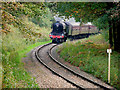 SD7914 : Flying Scotsman Approaching Summerseat by David Dixon