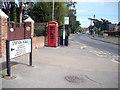 SU4508 : Halfway up Station Road by Recreation Ground by Geoff Holt