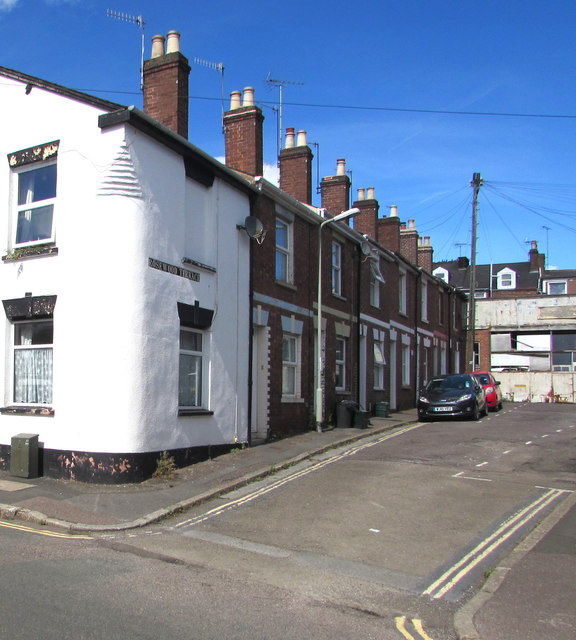 West side of rosewood terrace exeter jaggery for Terrace exeter