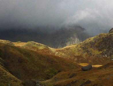 NY2204 : Stormy Upper Eskdale by Karl and Ali