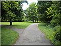 TL1595 : Footpath junction, Orton Brimbles (1) by Richard Vince