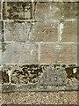 SK6943 : Bench mark, St Peter's Church, East Bridgford by Alan Murray-Rust