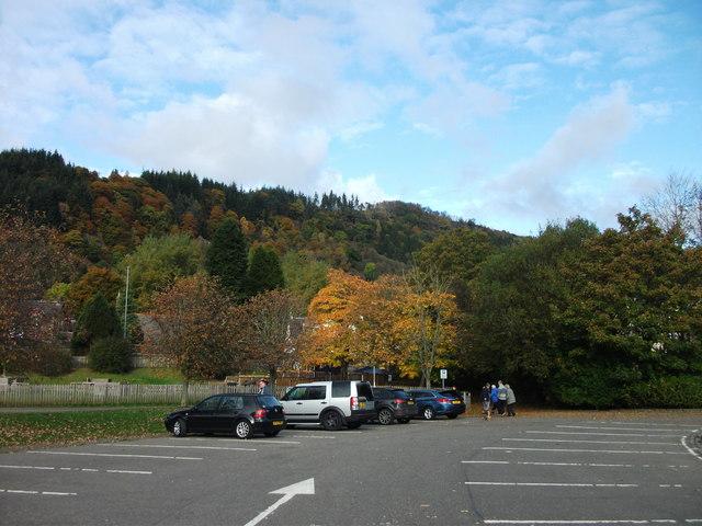 Callander in autumn