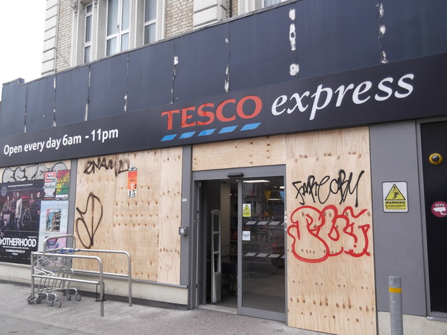 Tesco Express, Ladbroke Grove W10