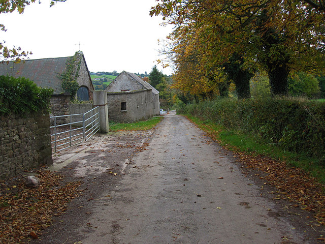 Gate and Farm Buildings