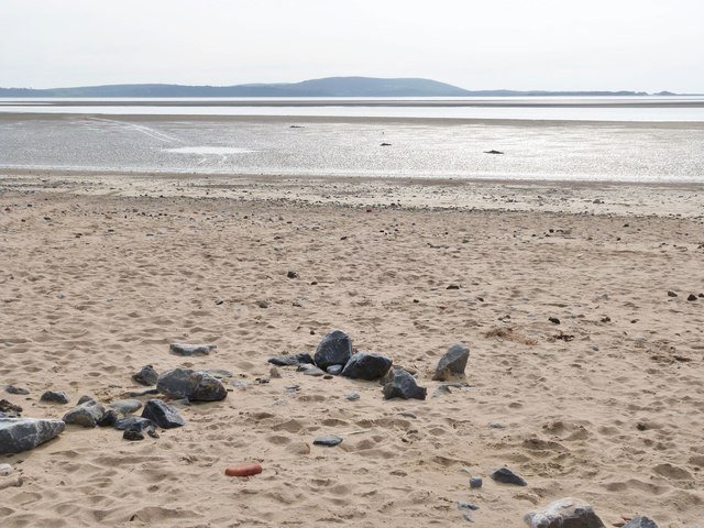 The beach at, Llanelli