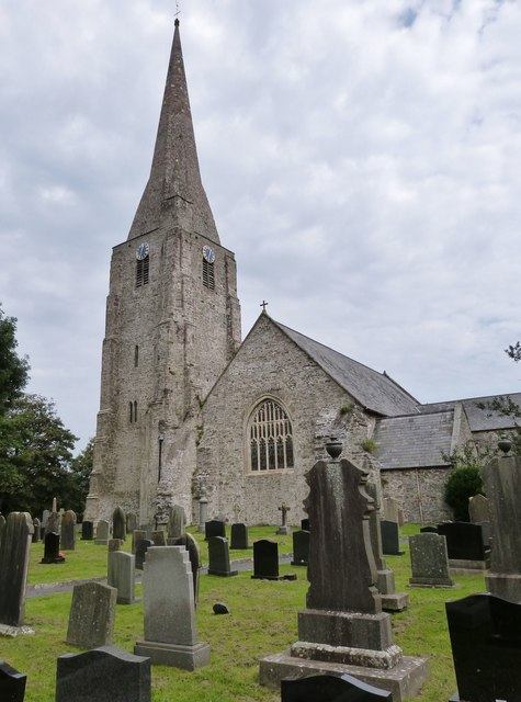 St. Mary's parish church, Kidwelly, Carmarthenshire