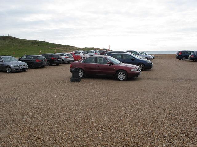 Beach car park at Seatown