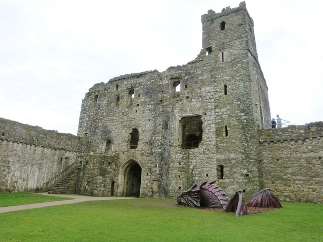 Ruins of Kidwelly Castle, Carmarthenshire