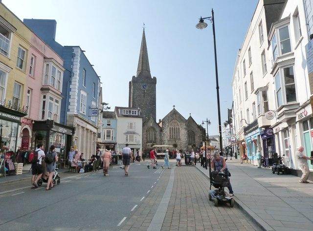 St. Julian's Street, Tenby