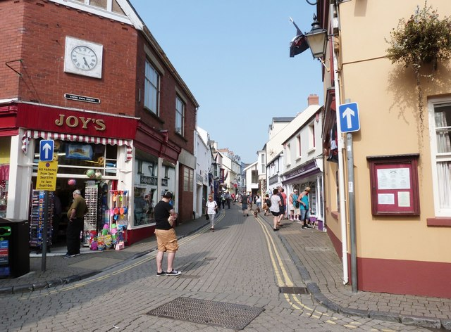 Upper Frog Street, Tenby