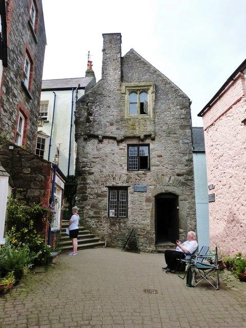 Tudor Merchant's House, Tenby