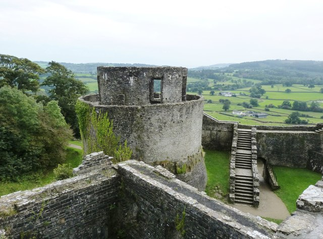 The South-east tower, Dinefwr Castle