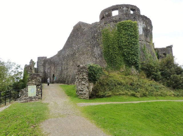 Entrance to Dinefwr Castle, near Llandeilo