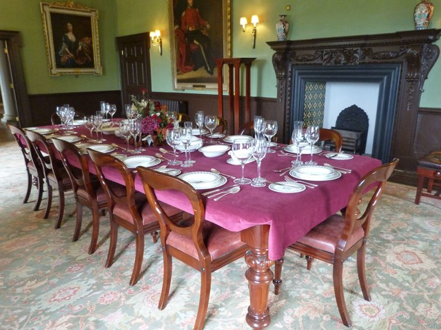 Dining Room, Newton House. near Llandeilo