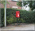 SJ7061 : Elizabeth II postbox, Warmingham by JThomas