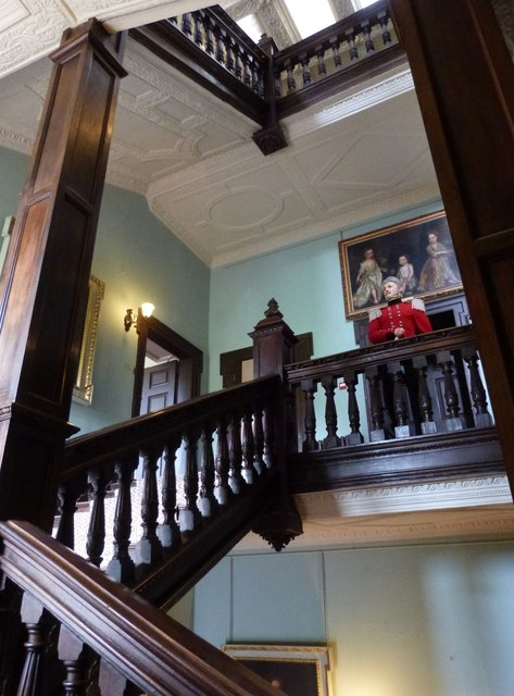 The Grand Staircase, Newton House,