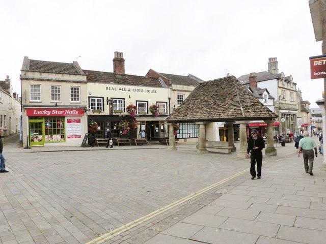 Market Place, Chippenham, Wiltshire