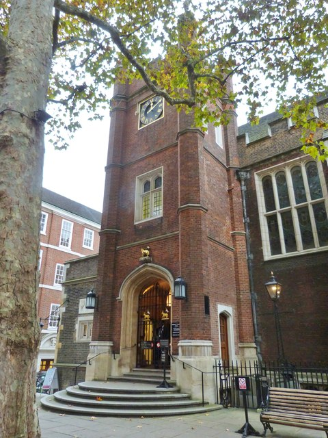 Middle Temple Hall, Fountain Court, London
