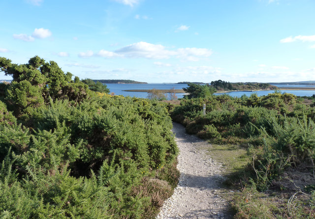 Four Islands from RSPB Reserve at Arne