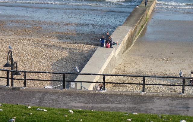 Stones or Sand? Lyme Regis Beach