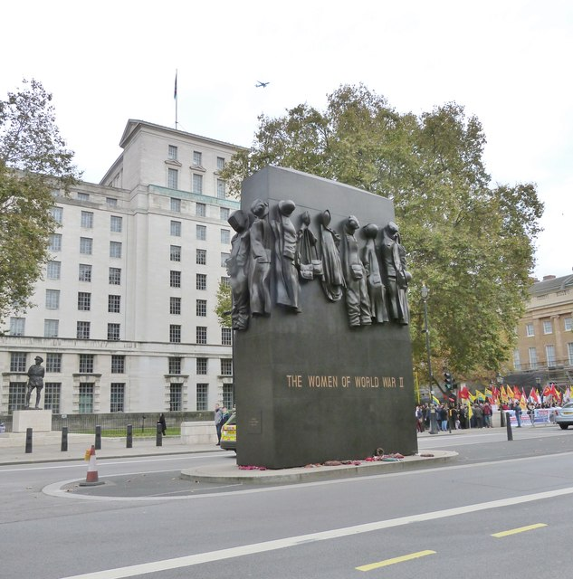 New monument in Whitehall, London