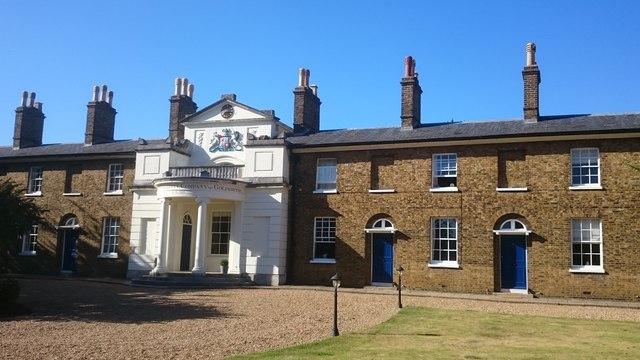 Goldsmiths' almshouses