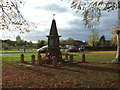 SJ6758 : War Memorial, Bradfield Green by JThomas