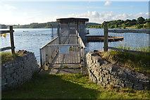 TQ3328 : Overflow Tower, Ardingly Reservoir by N Chadwick